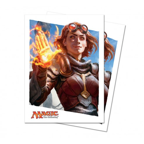 Ultra Pro Deck Protectors - Chandra Nalaar - Oath of the Gatewatch - 80 pochettes