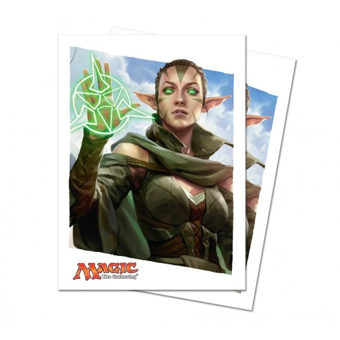 Ultra Pro Deck Protectors - Nissa Revane - Oath of the Gatewatch - 80 pochettes