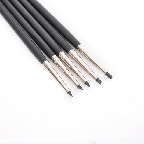 Silicone brushes - Set of 5