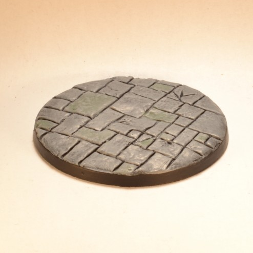 50mm round bases - Paved stones