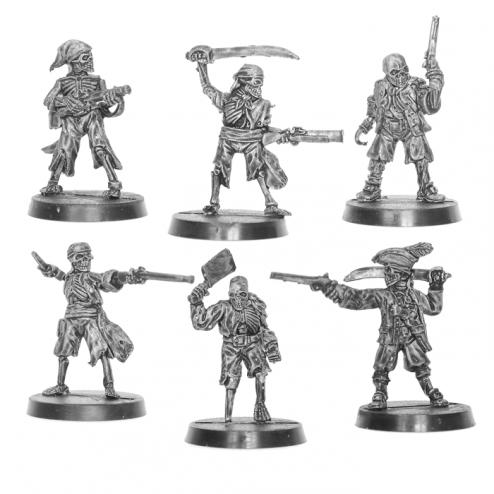 Pirate Skeleton Crew