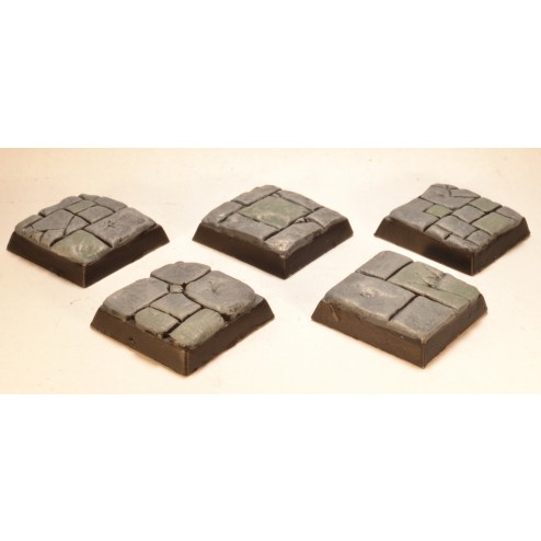 20mm square bases - Paved stone