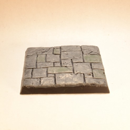 40mm square bases - Paved Stone