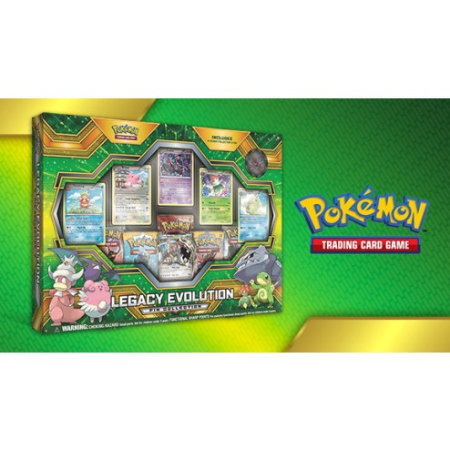 Pokémon TCG: Legacy Evolution Pin Collection (English)