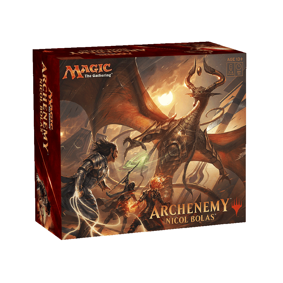 picture relating to Magic the Gathering Printable named MTG - Archenemy Nicol Bolas (English)