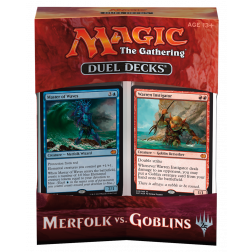 MTG - Duel Decks - Merfolk vs. Goblins (English)
