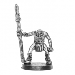 Uzbad Gutshak - Orc with Spear