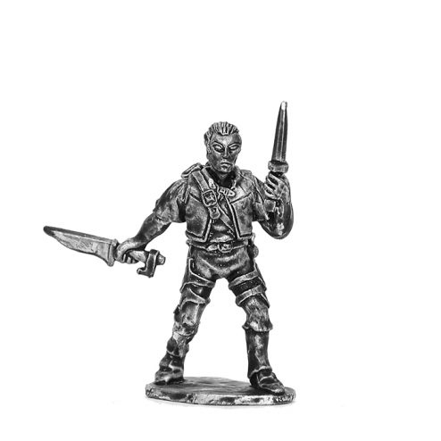 Norlaern Qincaryn - Demi-elfe voleur