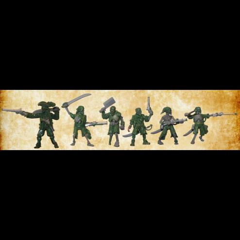 Equipage Squelettes Pirates (Précommande avec bonus)