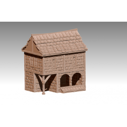 3D Printable Scenery - Village Pack 2 - Specialty Houses