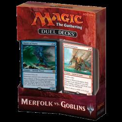 MTG - Duel Decks - Merfolk vs. Goblins (Anglais)