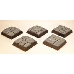 Socles carrés 20mm - Pavés
