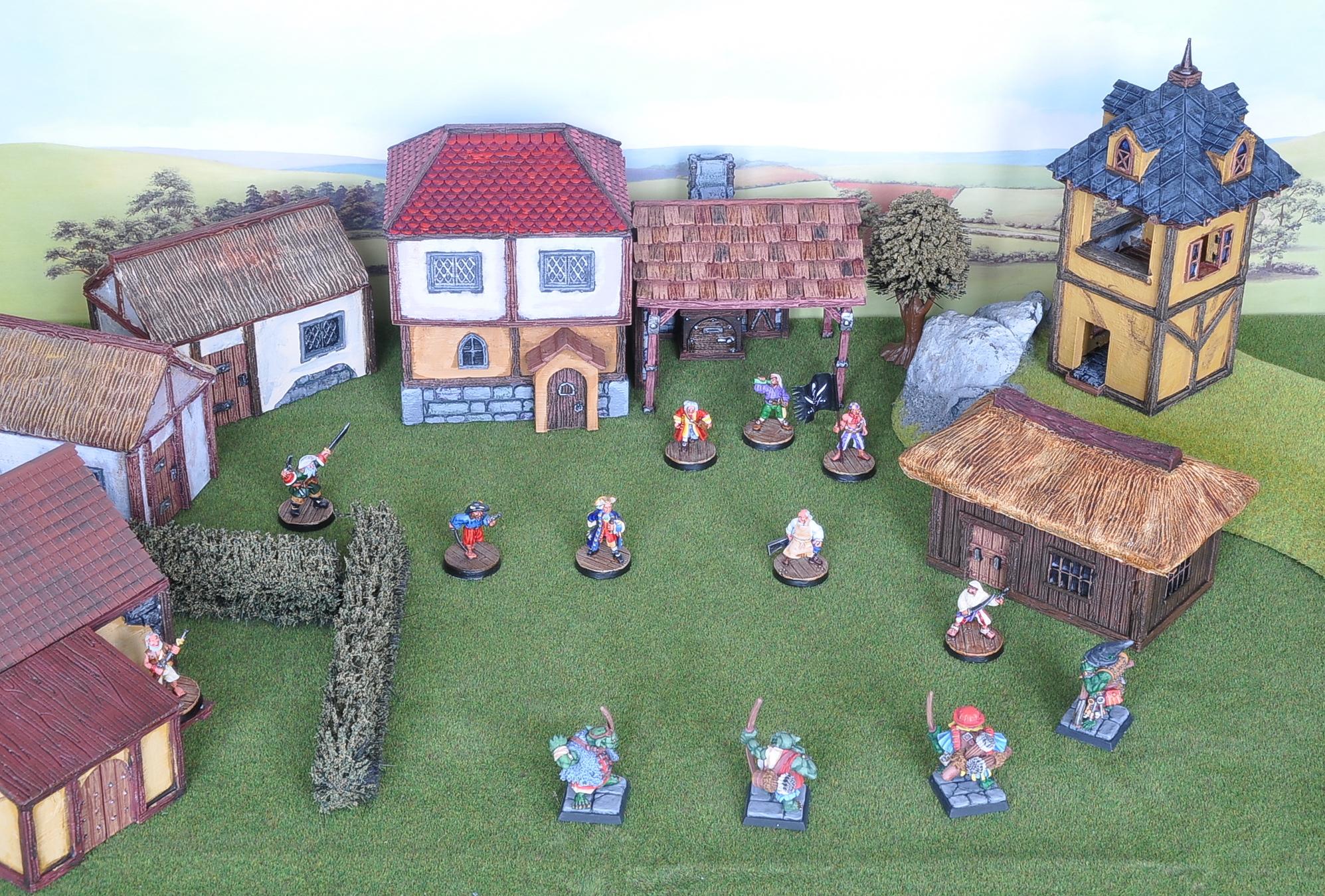 [Kickstarter] Décor 3D imprimables Village2